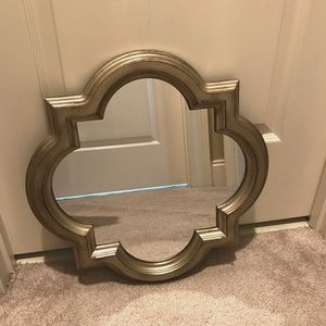 Threshold Champagne Quatrefoil Mirror